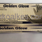 Sarung Tangan Nitrile Non Powder Golden Glove M (box isi 100 bh)